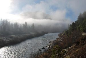 The Klamath River near Happy Camp. Photo: Matt Baun, Flickr CC, USFWS.
