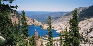 Caribou Lake in the Trinity Alps Wilderness. Photo courtesy of SAFE.