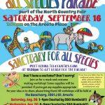 All Species Parade poster 2017