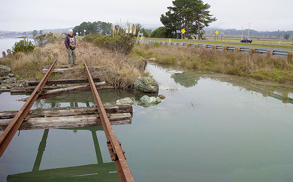 Sea Level Rise and the Ongoing Railroad Saga