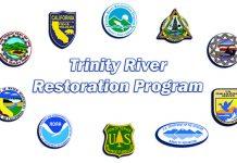 Trinity River Restoration Program partners' logos