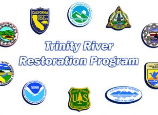 Trinity River Restoration Program partners' logos