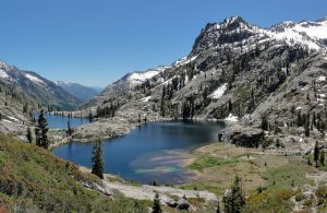 Canyon Creek Lakes, in Trinity Alps. Canyon Creek is a proposed Wild & Scenic River. Photo: Miguel Vieira, Flickr CC.