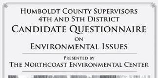 2018 Humboldt County Supervisors Questionnaire cover image