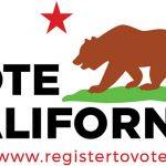 Vote California graphic