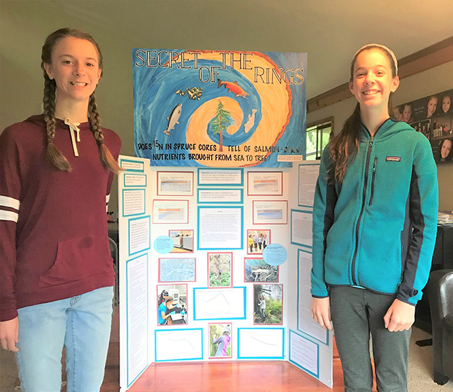 Science Projects Receive Awards; Events