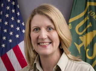 Vicki Christiansen, Interim Chief of the U.S. Forest Service. Official photo.
