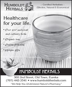 Humboldt Herbals ad graphic