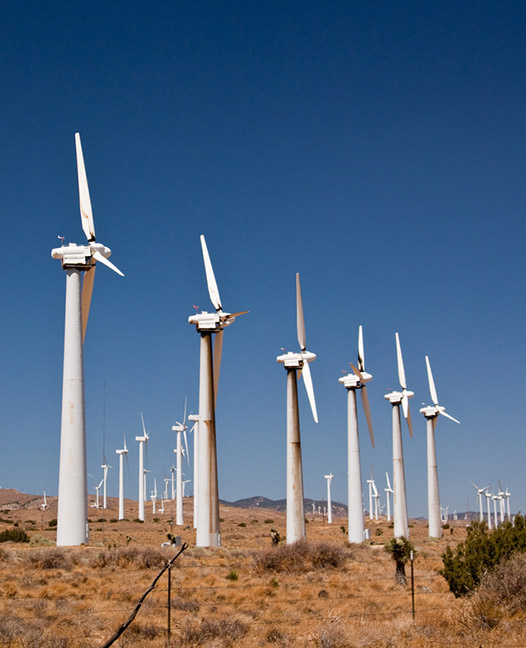 Terra-Gen wind farm in Tehachapi, CA. Photo: Jurriaan Persyn, Flickr.com CC.