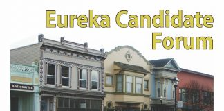 City of Eureka Candidate Forum Flyer 2018