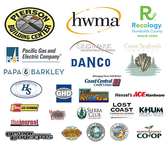 2018 Coastal Cleanup Day sponsors.