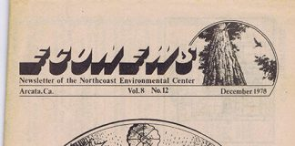 Cover of the December 1978 EcoNews.