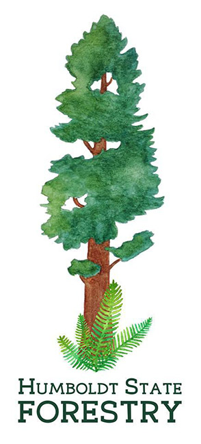 HSU Forestry Club logo