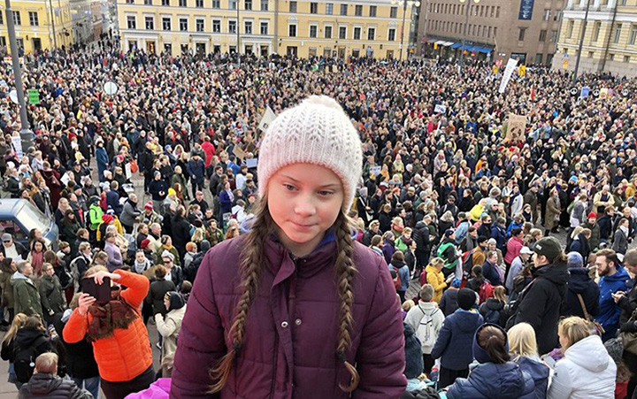 Kin to the Earth: Greta Thunberg, 16-year old climate activist