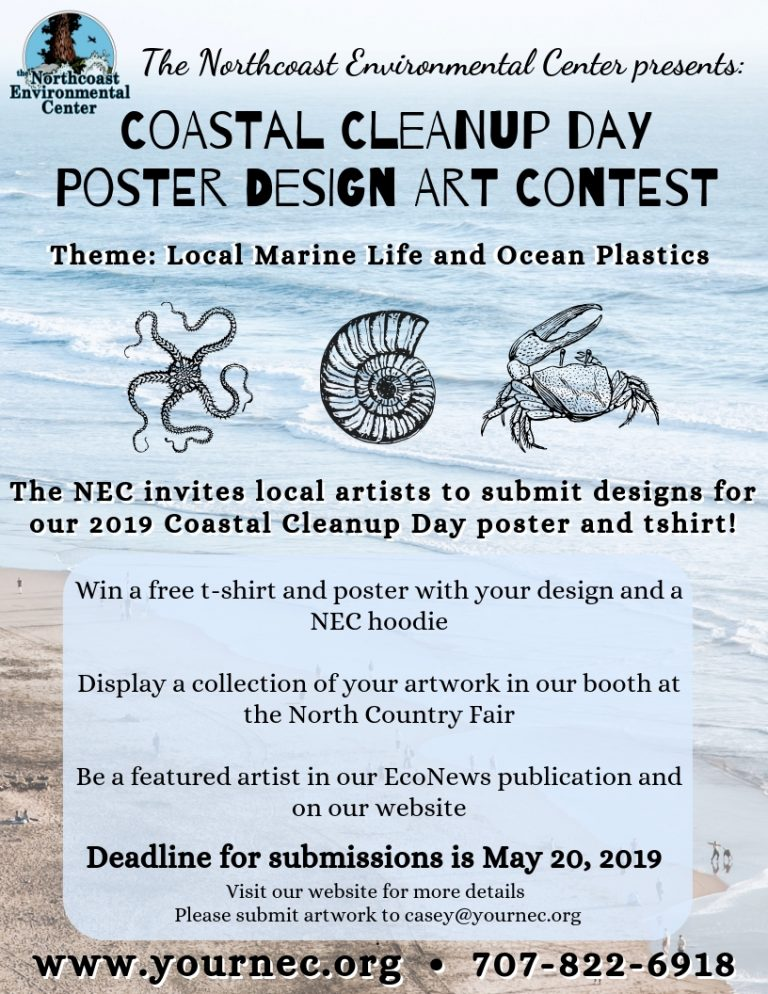 Artists Wanted! Poster Design Contest for Coastal Cleanup Day