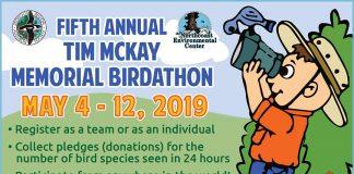 Birdathon flyer 2019
