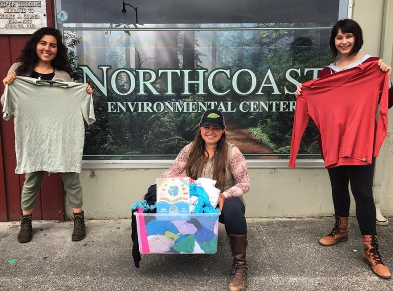 NEC's Coastal Cleanup Day Says NO to Fast Fashion