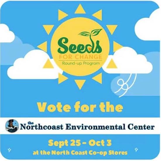 Vote for the NEC at the Co-op's Seeds of Change program