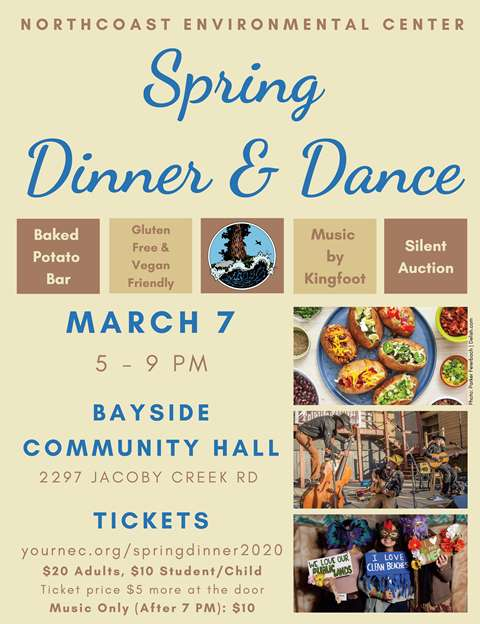 March 7 – Spring Dinner and Dance Fundraiser